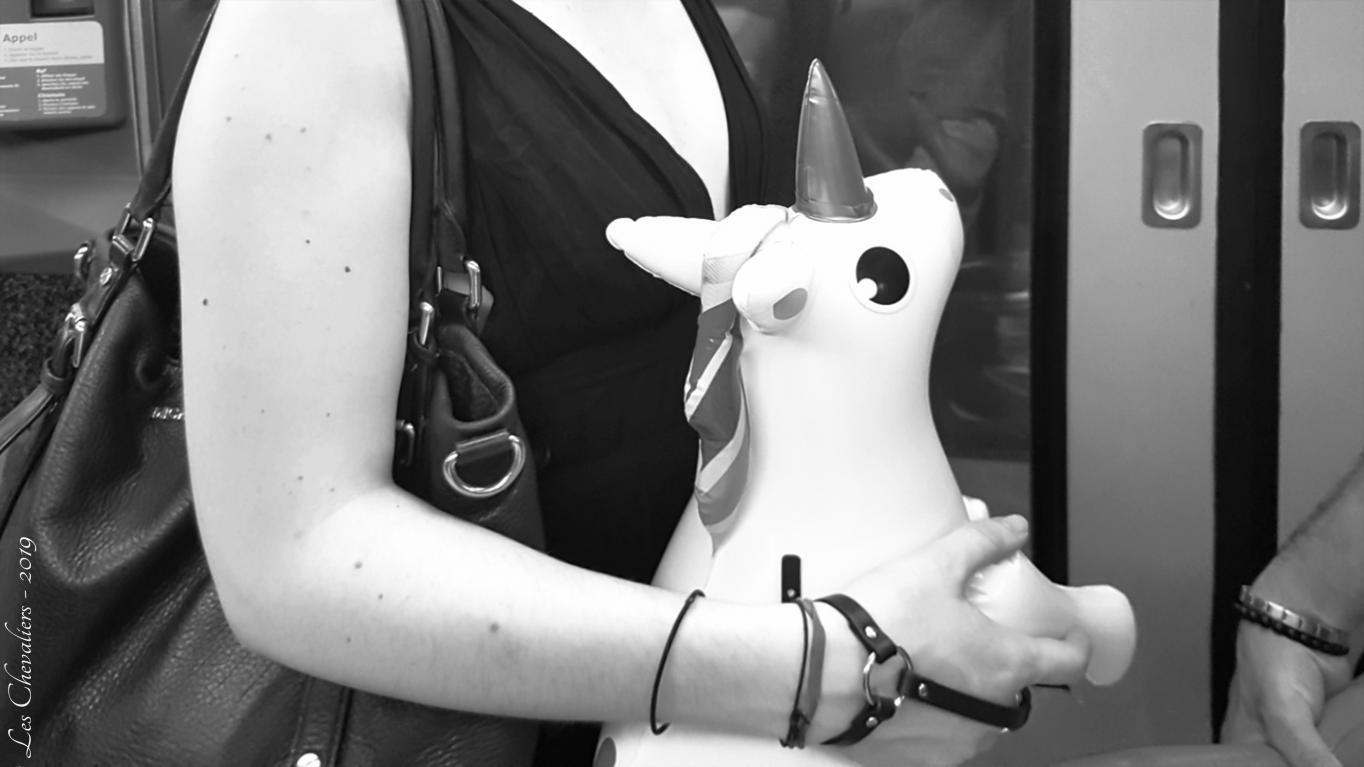 La Licorne dans le métro  Photos Érotiques  by Les Chevaliers